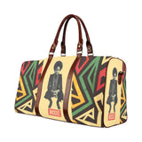 Nina Simone Mood Large Waterproof Travel Bag - Melanin Apparel