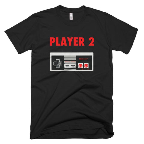 Player Two Classic Nintendo Retro Tee - Melanin Apparel