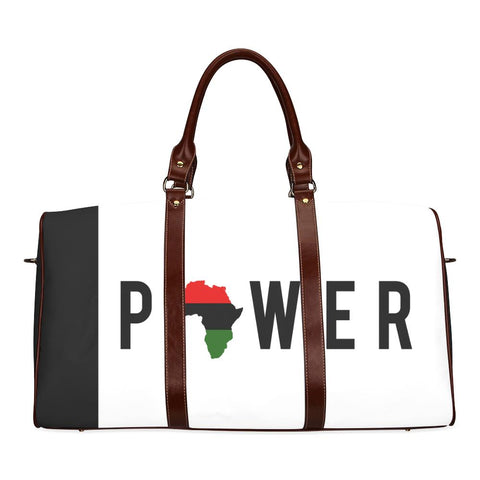 Power Large Waterproof Travel Bag - Melanin Apparel