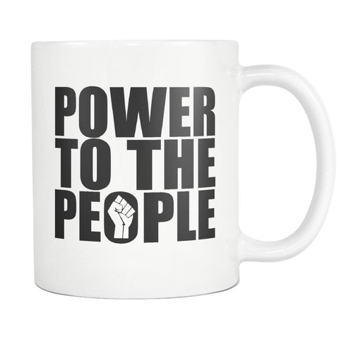 Power to the People Mug - Melanin Apparel