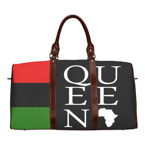 Queen Large Waterproof Travel Bag - Melanin Apparel