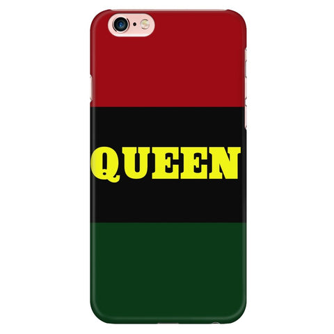 QUEEN PHONE CASE - Melanin Apparel
