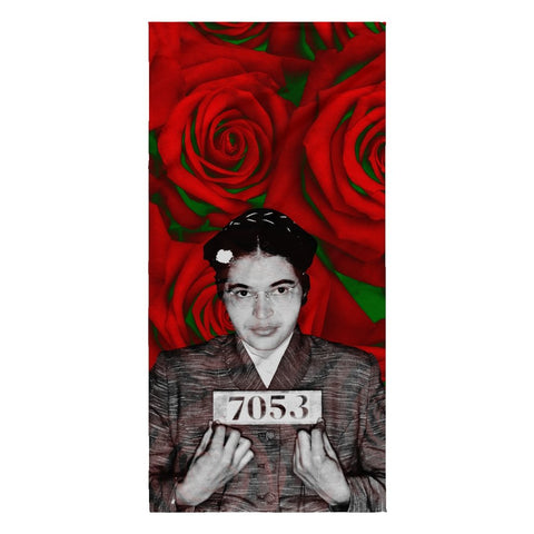 ROSA PARKS 7053 BEACH TOWEL - Melanin Apparel
