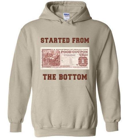 Started From The Bottom - Melanin Apparel