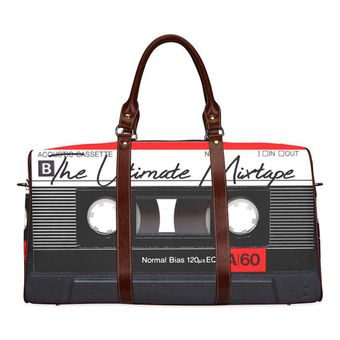 The Ultimate Mixtape Large Waterproof Travel Bag - Melanin Apparel