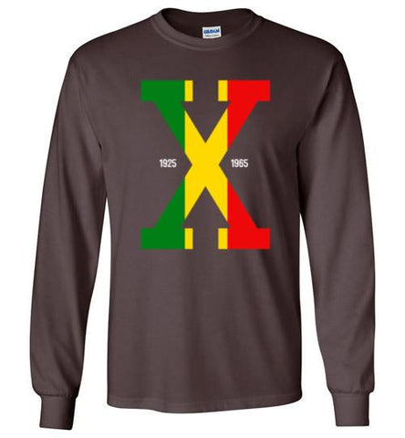 Tri Color Malcolm X - Melanin Apparel