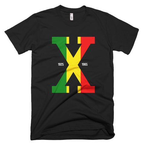 Tri Color Malcolm X Tee - Melanin Apparel