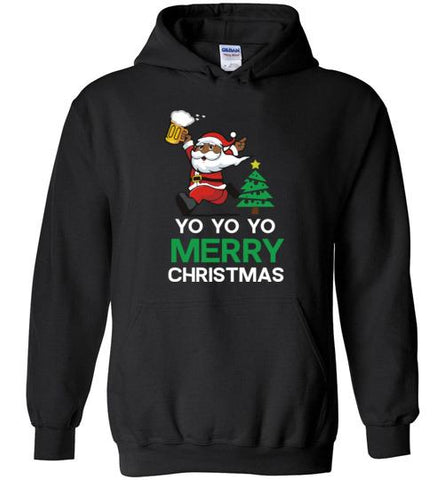 Yo Yo Yo Merry Christmas - Melanin Apparel