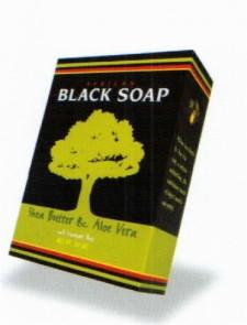 Madina Black Soap with Aloe Vera Black Soap with Aloe Vera