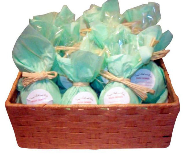 Tanya's Bath and Body Bath Bombs Fizzies Pack of 10 Bath Bombs Bath Bombs Fizzies Pack of 10 Bath Bombs