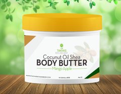 Tanya's Bath and Body Coconut Oil Whipped Body Butter with Shea Butter Whipped Body Butter with Shea Butter and Organic Coconut Oil is Super Moisturizer and a Excellent Dry Skin Lotion