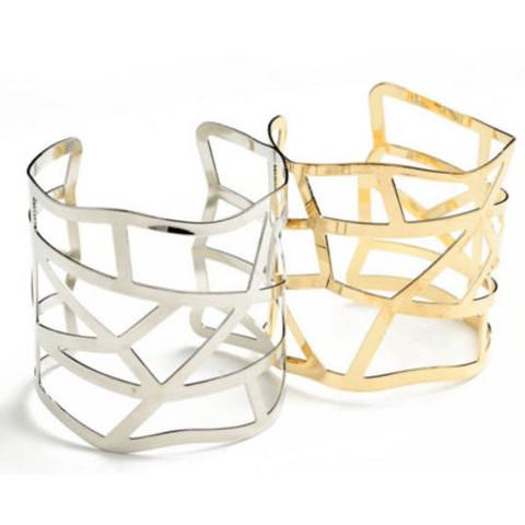 Tanya's Bath and Body Cuff Bracelet in Silver or Gold Cuff Bracelet in Silver or Gold