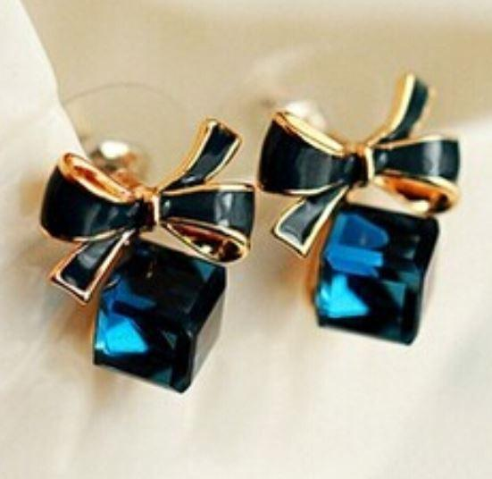 Tanya's Bath and Body Earrings Blue Stud Earrings, Cute, Stud Earrings, Gift for Her