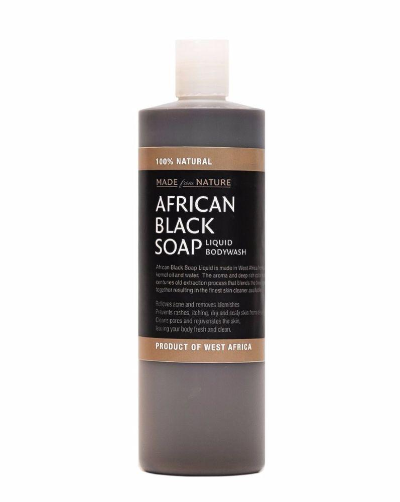 Tanya's Bath and Body Liquid African Black Soap with Coconut Oil