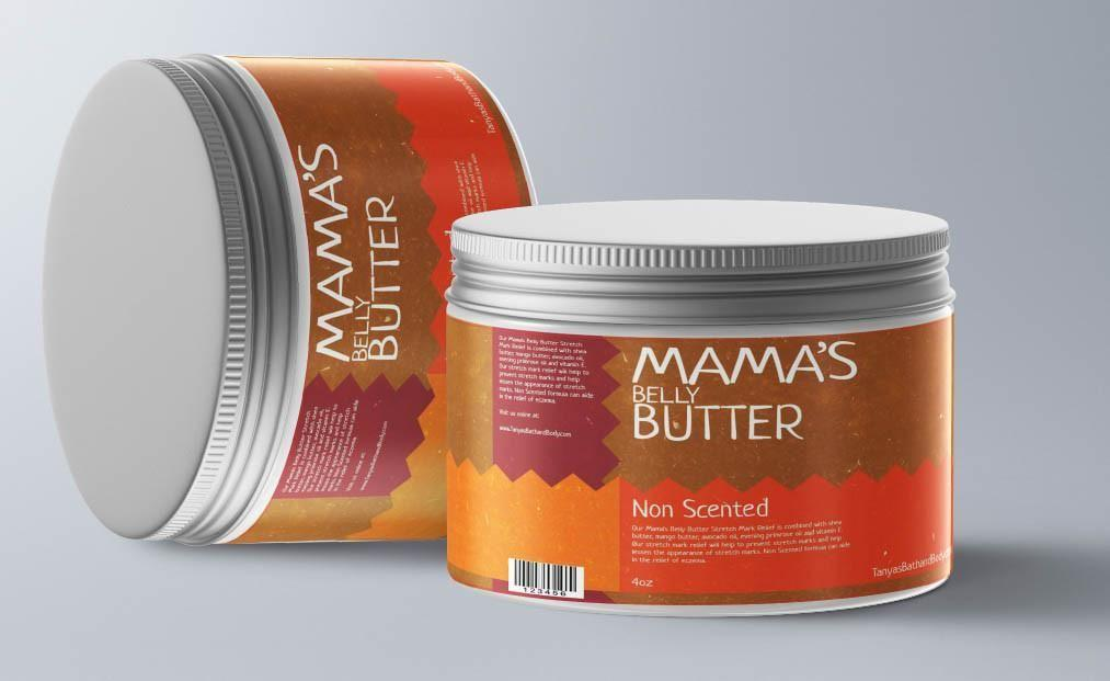 Tanya's Bath and Body Mama's Belly Butter Stretch Mark Relief Mama's Belly Butter Stretch Mark Relief