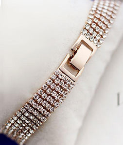 Tanya's Bath and Body tennis bracelet Elegant Crystal Mmulti-layer Tennis Bracelet