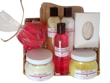 Tanya's Bath and Body The Basics Bath and Body Spa Gift Basket The Basics Bath and Body Spa Gift Basket