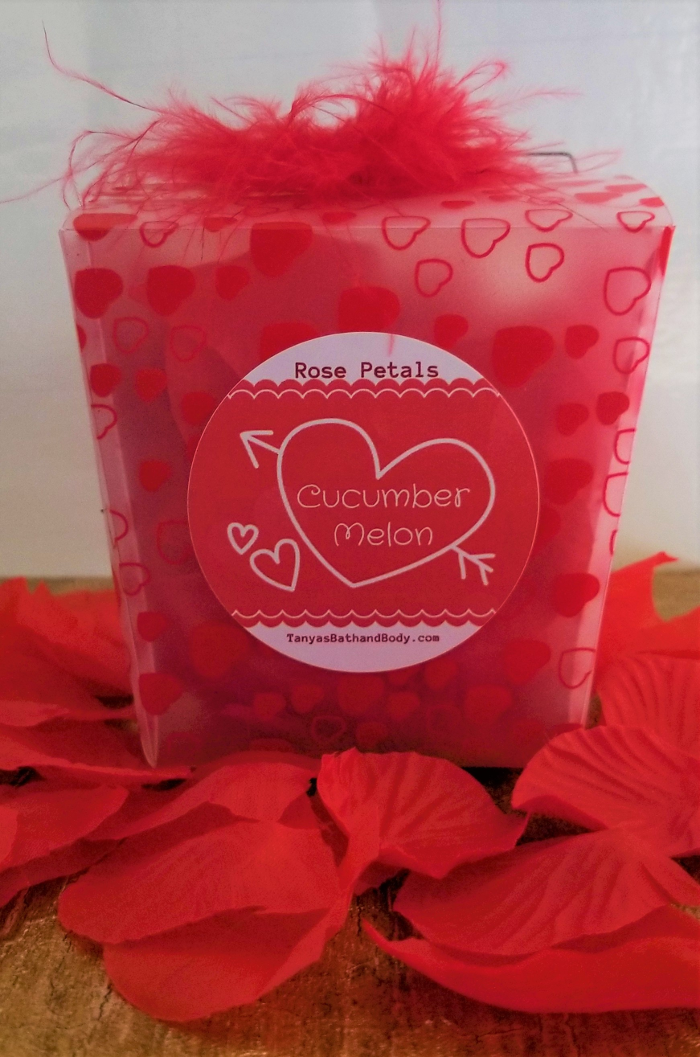 Tanya's Bath and Body Valentine Day Gift Artificial Silk Rose Petals Scented Rose Petals | Perfect Valentine Day Gift