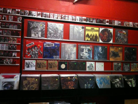 vinyl records record stores Malaysia