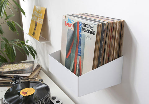 Teenyle A Cool Wall Mounted Record Shelf Record Storage