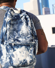 Acid Denim Book Bag