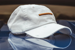 "Expertise ""Distressed"" Strapback - White/Gold"