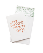 ADD: 'THINKING OF YOU' CARD