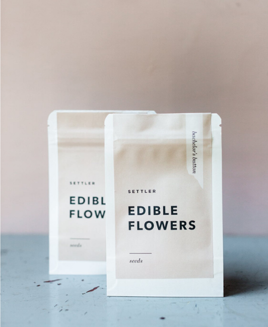 ADD: FLOWER SEEDS - EDIBLE
