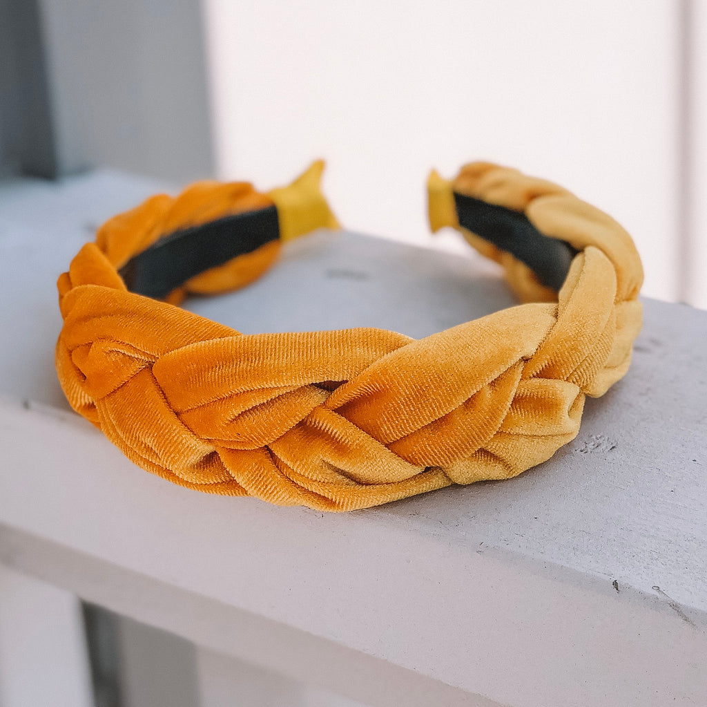 Francheska Yellow Headband