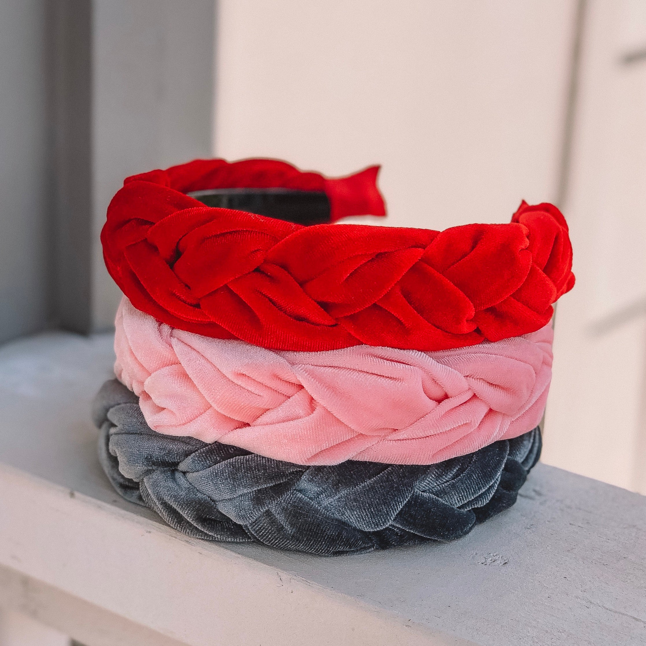 Francheska Red Headband