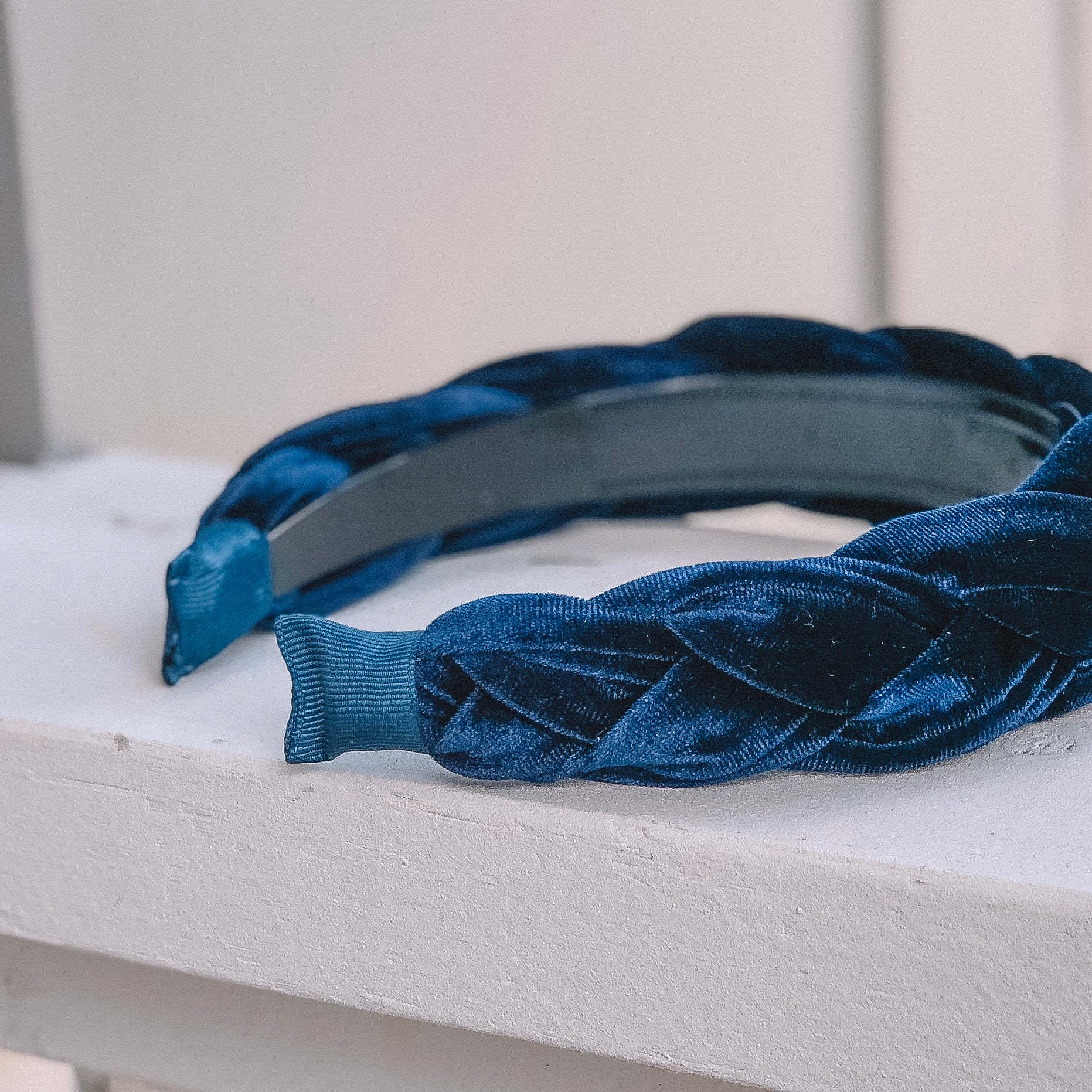 Francheska Navy Blue Headband