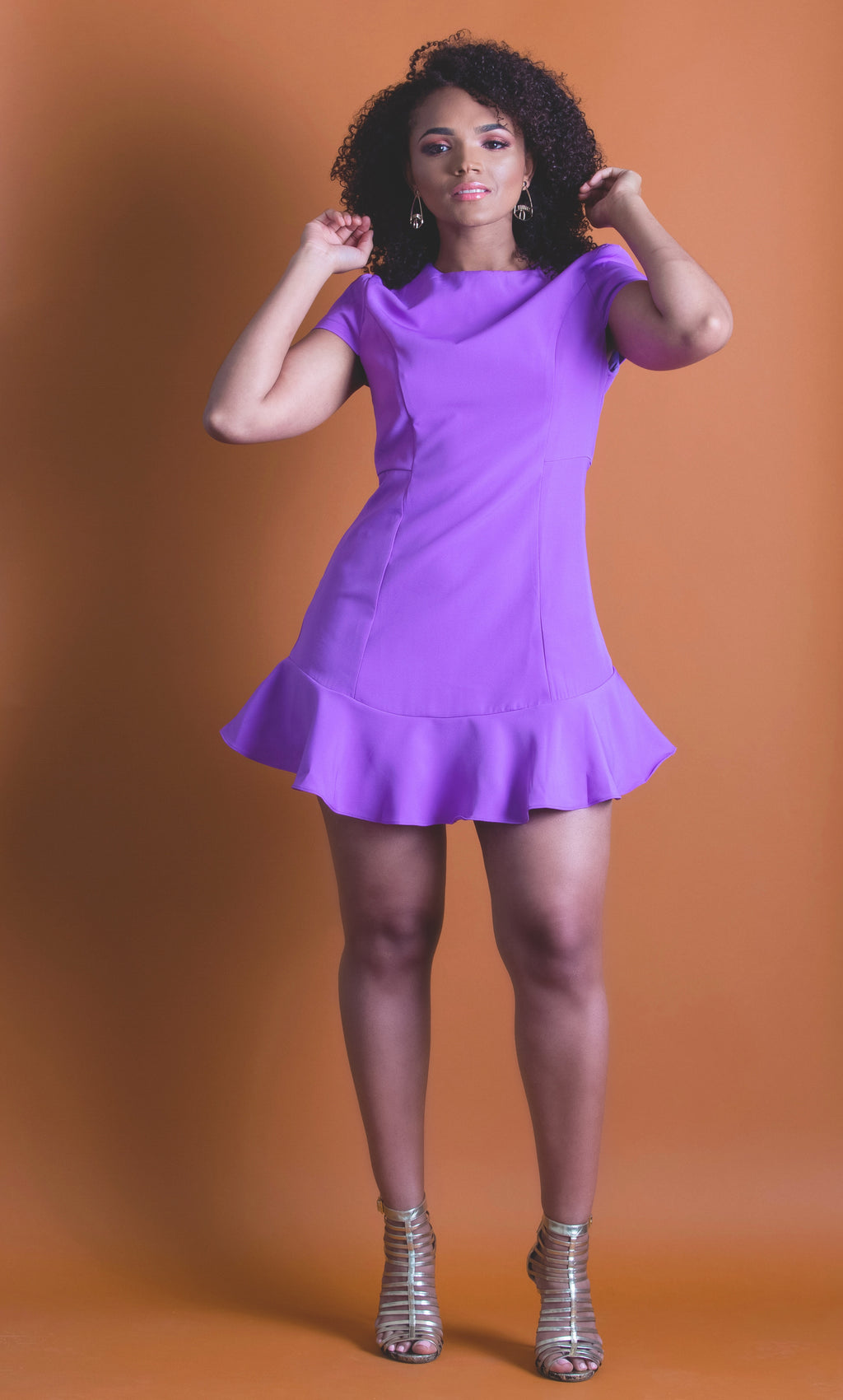 Marina Purple Dress