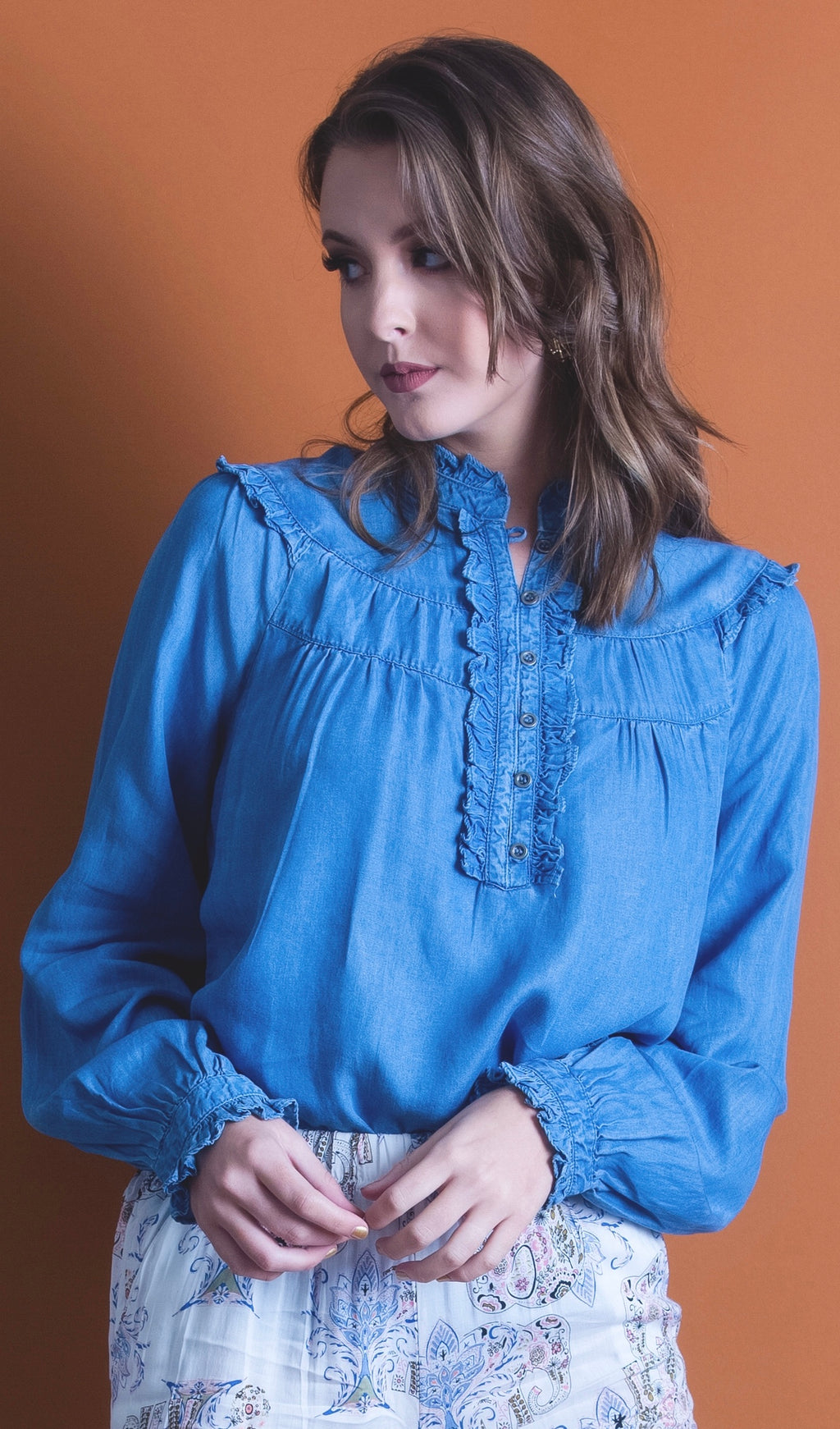Karla Denim Shirt