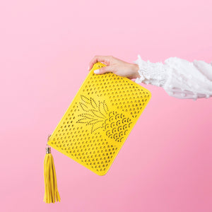 ANKI YELLOW PINEAPPLE ENVELOPE
