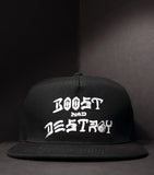 Boost and Destroy Snap - Black