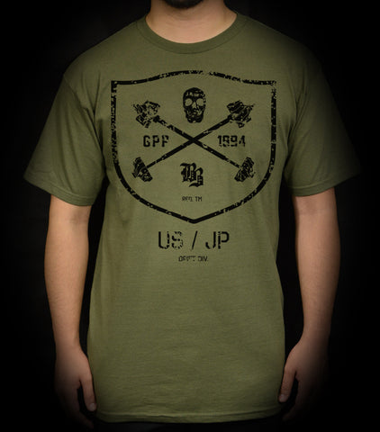 Drift Division Tee - Olive