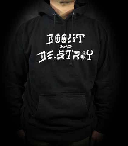 Boost and Destroy Pullover - Blk