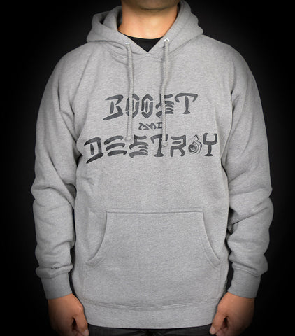 Boost and Destroy Pullover - Hthr