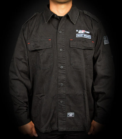 The General Shirt Jacket - Black