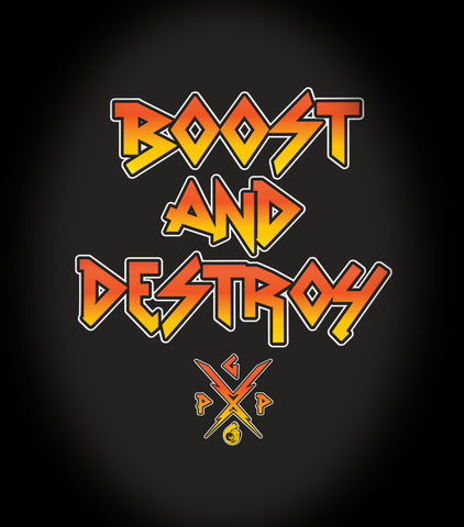 BOOST AND DESTROY 2.0 DIECUT