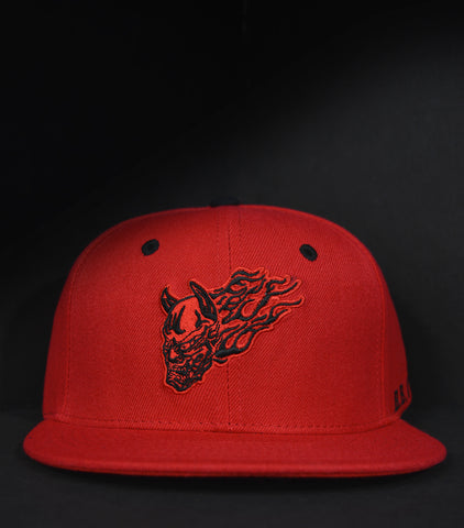 Drift Demons Snapback - Red
