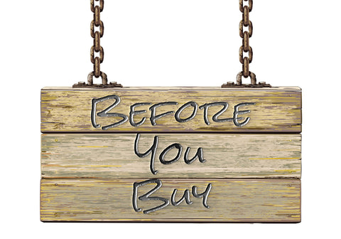 Before You Buy