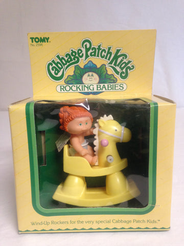 007 Tomy, 1983, Cabbage Patch Rocking Babies Rocking Horse, ROTPCT - Colleen's Attic - 1