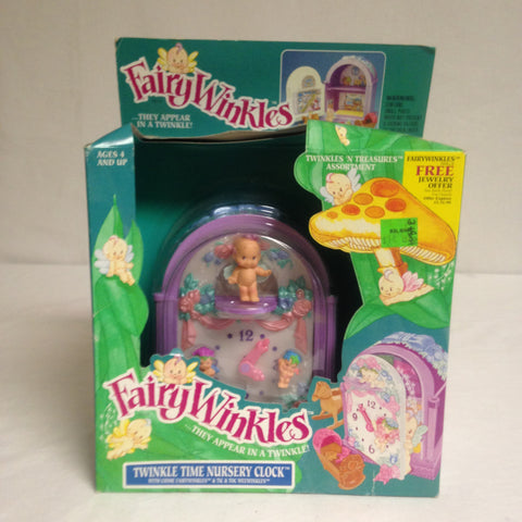 052 Fairywinkles, Twinkle Time Nursery Clock, 1993, NRFSB - Colleen's Attic - 1