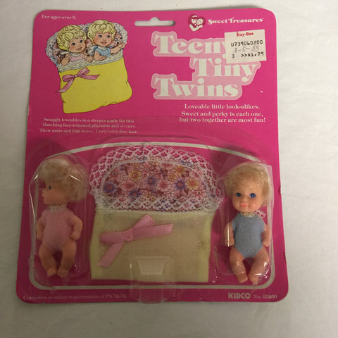 064 Kidco 1982 Teeny Tiny Twins Sweet Treasures - Colleen's Attic - 1
