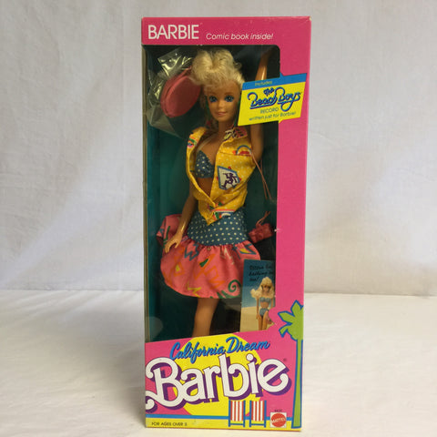 077 Mattel 1987 California Dream Barbie, NRFSB - Colleen's Attic - 1