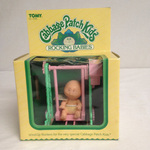 008 Tomy 1983 Cabbage Patch Rocking Babies Bald Baby, ROTPCT - Colleen's Attic - 1