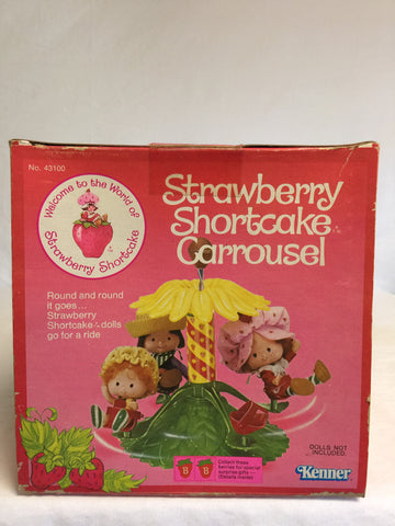 101 Kenner 1980 Strawberry Shortcake Carrousel - Colleen's Attic - 1