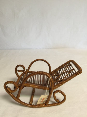 117 Doll Furniture - Rocking Chair from Pier 1 - Colleen's Attic - 1