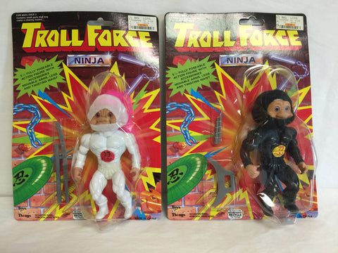 119 Toys N' Things 1993 Troll Force Ninja NRFSC - Colleen's Attic - 1